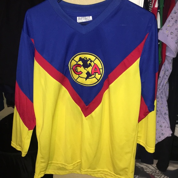 buy popular fa366 1ef9a Vintage Club America Replica 3/4 Jersey
